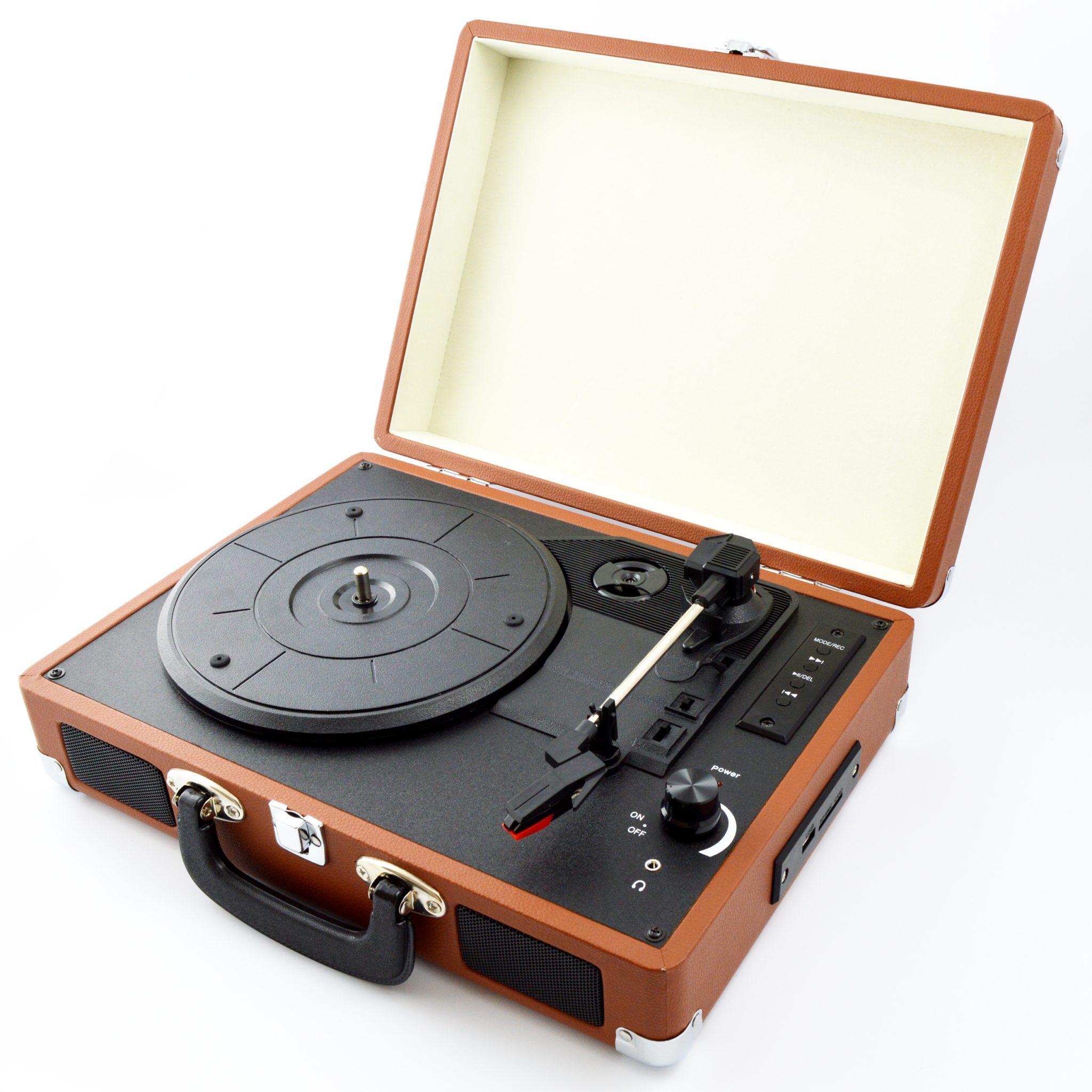 Грамофон с ретро дизайн Diva 104SA, USB, SD, Bluetooth