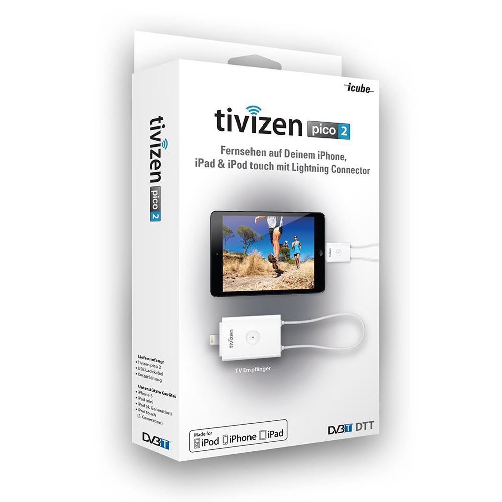Портативен DVB-t тунер за смартфони и таблети Tivizen Pico 2