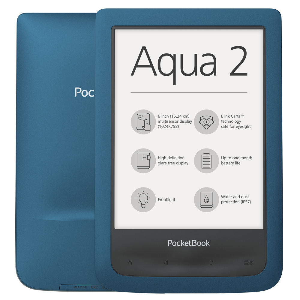 eBook четец PocketBook PB641 Aqua 2, Морскосин